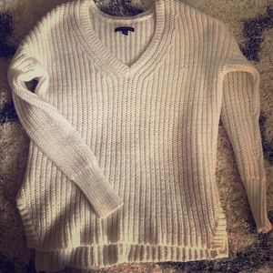 American Eagle Sweater w/ Zipper Details